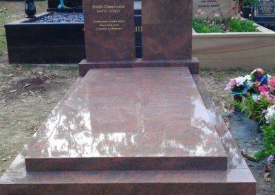 custom made granite memorials