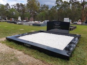 headstones and gravestones