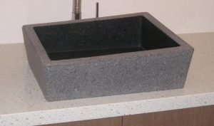 Natural Stone Features granite basin