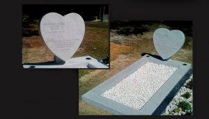 gravestones and memorials