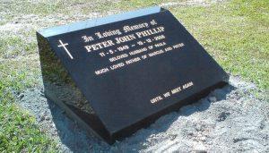 lawn plaque