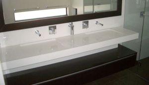 stone vanity basin